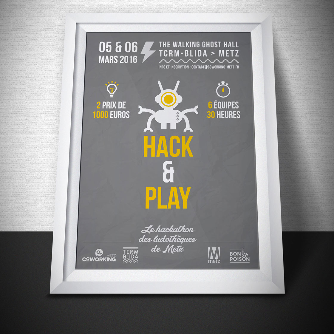 Affiche Hack & Play