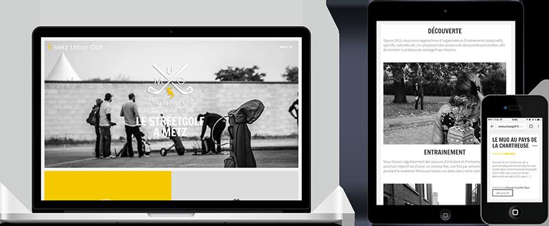 Site internet Metz Urban Golf